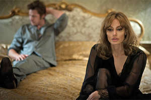 Angelina Jolie and Brad Pitt First Look in 'By the Sea' (Photos)